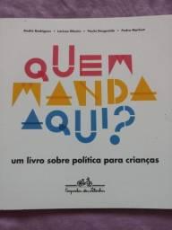 Quem Manda Aqui? Um Livro Sobre Política Para Crianças