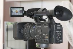 Impecável Filmadora Sony Z-7 (Completíssima)