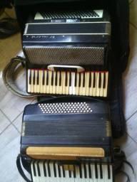 Duas gaita acordeon universal 12o e torino 80 aceita proposta