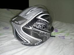 Vendo capacete tough preto
