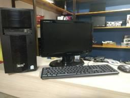 PC Completo Dual Core 4 Gb de memória RAM