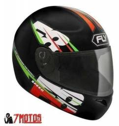 Capacete F8 Speed Verde - Fly'