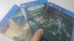 Grandes Jogos pra PS4 Assassins Creed Origins, Cod WW2 e Sombras da Guerra