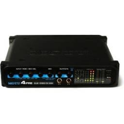 Placa de som   Interface de Audio Motu 4 Pre   Hybrid FireWire/USB