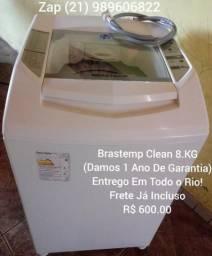 Brastemp Clean 8.KG(1 Ano De Garantia)Entrego e Testo