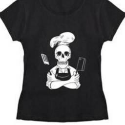 Lindas camisetas para quem ama culinária