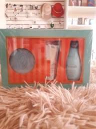 Kit perfume e o hidratante