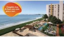 Lançamento 2 quartos de frente ao Mar - condomínio club - Praia do tabuleiro