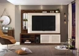 Home Dommus Dj Móveis 2 Portas, ideal para TVs até 70 Polegadas - Entrega Imediata;