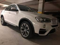 BMW X4 XLine 28i, 2.0L TURBO, 245 CV, 2015, impecável, revisada, ACEITO TROCA - 2015