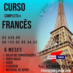 Cursos  de Inglês & francês