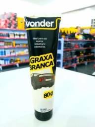 Graxa branca 80 g Vonder