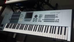 Yamaha Motif Xs7 Com Placa M-Lan