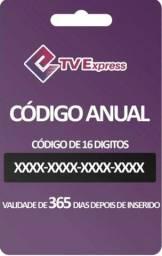 Códico Recarga Anual TVExpress