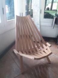 Cadeira dobrável Kentucky Premium NOVA para Sala Varanda e Jardins