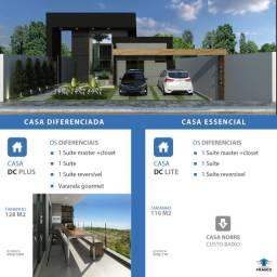 Casa moderna em lote de 500m2 - Noêmia Vitalli