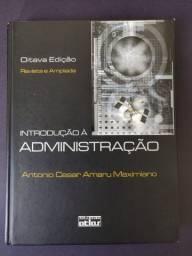 Livro - Introdução à Administração 8ª edição - Capa Dura - Usado em Bom Estado