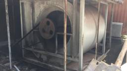 Turbina Siroco para ventilação de silos