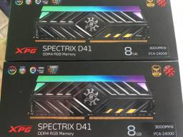 Vendo memórias XPG rgb 8gb 3000mhz DDR4