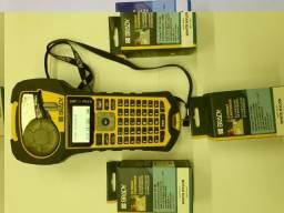 Impressora Rotuladora Brady Bmp21-plus + Fita