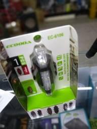 Luz de Bicicleta Carregamento por usb EC-6106
