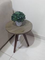 Mesa decorativa madeirada mdf