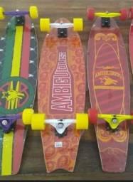 !!!Vendo Skate Longboard!!!NOVO
