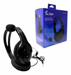 Headset Gamer Feir Para Ps4, Xbox One, Pc, Celular - Loja Natan Abreu