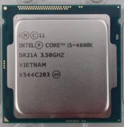 Intel Core I5-4690k 3.5ghz 4ª Geração com placa gráfica integrada