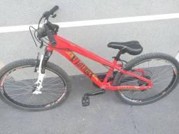 Bicicleta Viking Vermelha