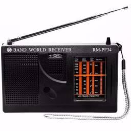Rádio Motobrás Rm-pf34 Om/Fm/Oc- (Novo, na caixa)