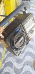 Radinho consola corno recaregavel ,bateria ou 110v