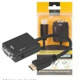 Conversor adaptador HDMI para VGA