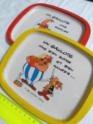 Pratos decorativos - Obelix et Asterix