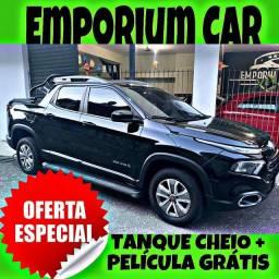 TANQUE CHEIO SO NA EMPORIUM CAR!!! FIAT TORO 1.8 AUT ANO 2017 COM MIL DE ENTRADA