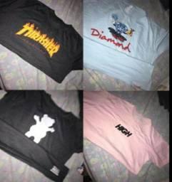 Kit 6 camisa