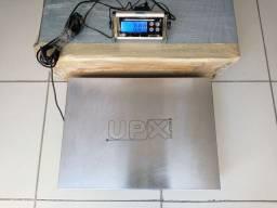 Balança Upx Industrial 300 Kg. Bateria e Energia / Autorizada Inmetro / Semi Nova