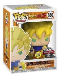 Funko Pop Dragon Ball Z Super Saiyan Goku Glow 860