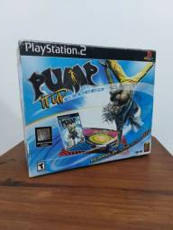 Tapete + Jogo PS2 Pump It Up Exceed Original