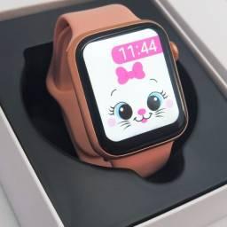 (Promoção) Smartwatch IWO W26PLUS (W26+) com pulseira milanesa de brinde