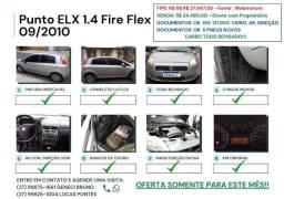 Título do anúncio: Punto 1.4 Flex 09/2010