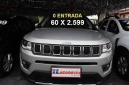 Jeep Compass Limites 2.0  Prata 2018