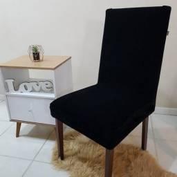 Capas para cadeira na cor preta
