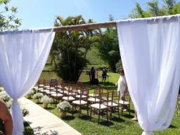 Espetacular opção de locação para casamentos, aniversários ou fds em família
