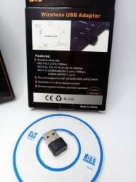 Adaptador usb wireless Wi-Fi 900 mbps