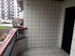 Apartamento com 1 dormitório para alugar, 76 m² por R$ 1.400,00/mês - Tupi - Praia Grande/