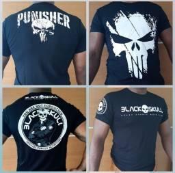 kit com 04 - Camisas de Black Skull.