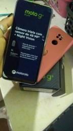Moto G9 play semi-novo tá completo