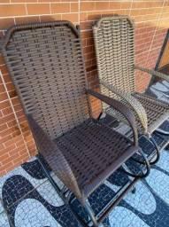 Cadeiras de balanço reforçada