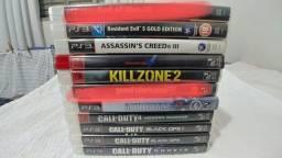 Título do anúncio: Jogos de PS3 Originais